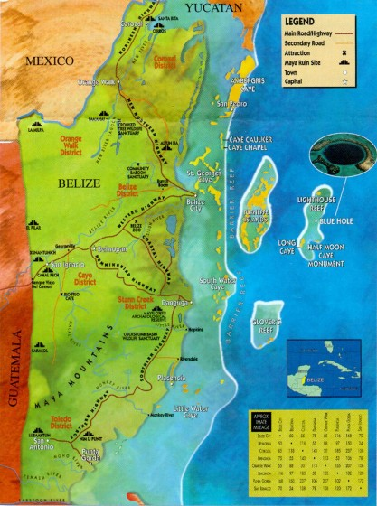 map-belize