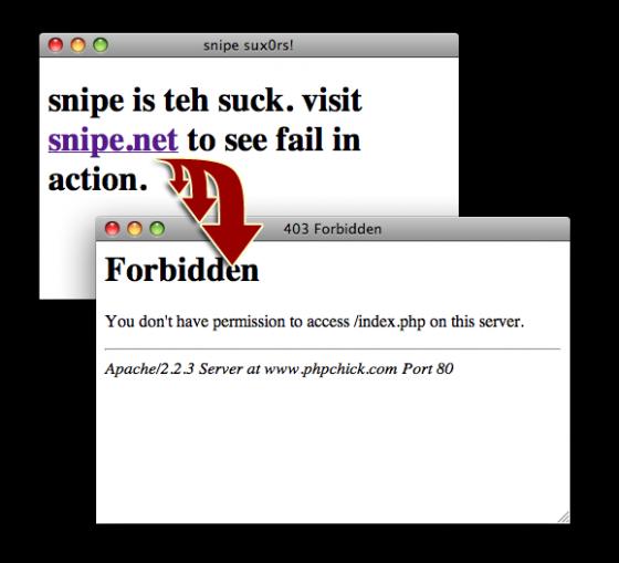 snipe-sucks